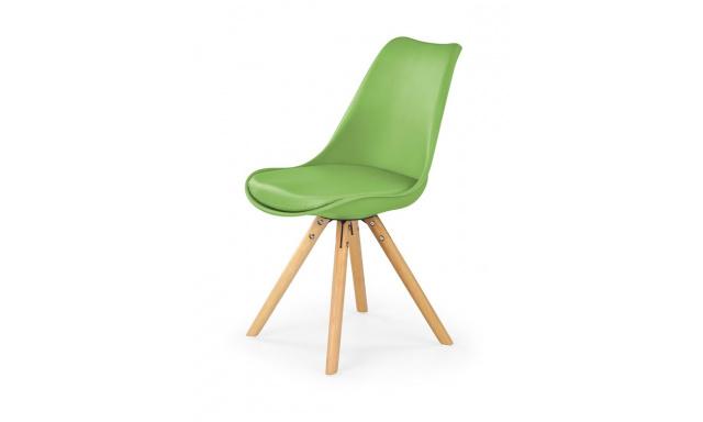 Jídelní židle H201, zelená