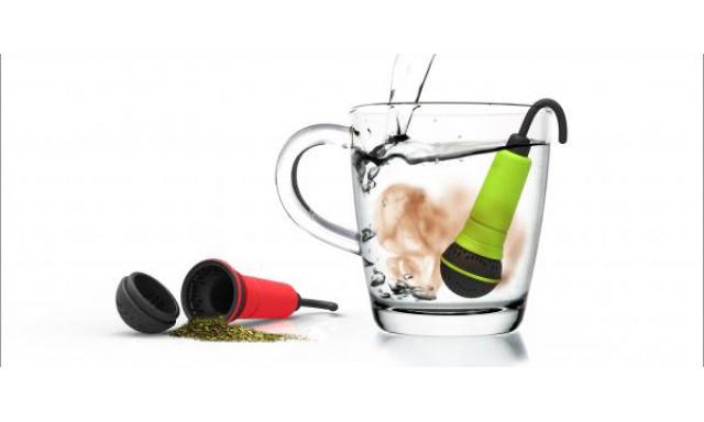 Čajové sitko ROCKET Spo-Tea-Fy, zelené