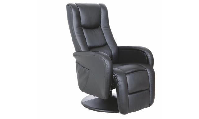 Relaxační křeslo Puls, černé