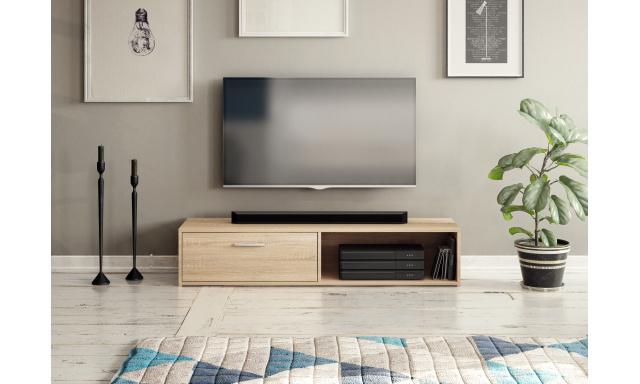 Moderní TV stolek Savana 140cm, sonoma
