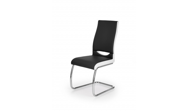 K259 chair, color: black / white