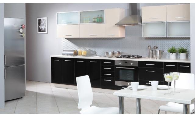 Luxusní kuchynská linka Platinum D, vysoký lesk!
