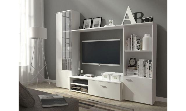 Moderní obývací stěna Heros, bílá