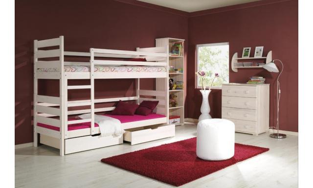 Dětská postel Derek, masiv