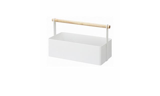 Multifunkčný box Yamazaki Tosca Tool Box L, biely