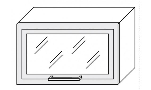 PLATINUM horní skřínka 60cm W4bs/60 ALU