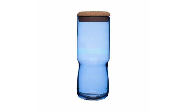Váza/dóza SEA Aqua, vysoká, modrá