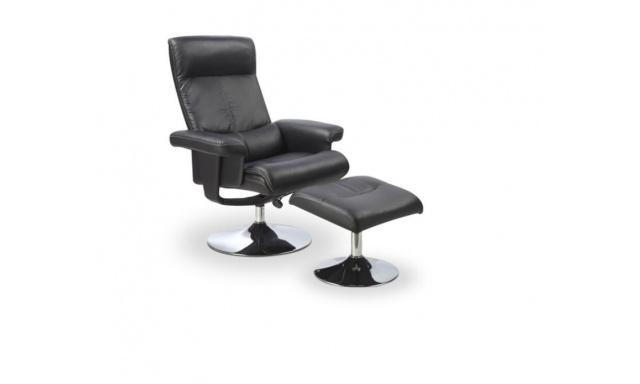 Derek relaxační židle s pouffe