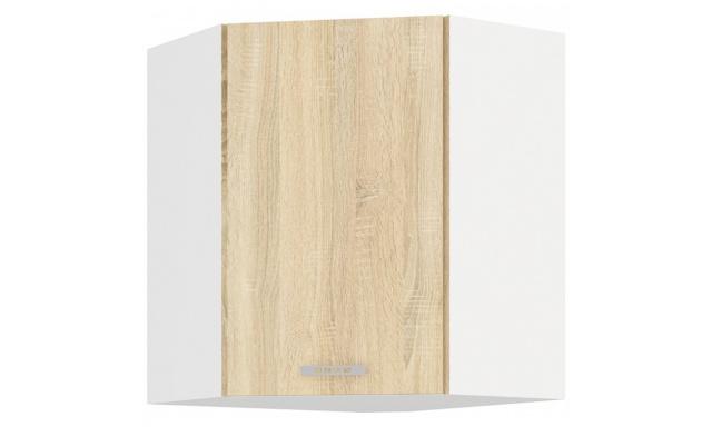 SAVA sonoma horní skřínka 60cm - rohová
