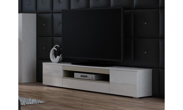 TV stolek Vito, bílá/sonoma