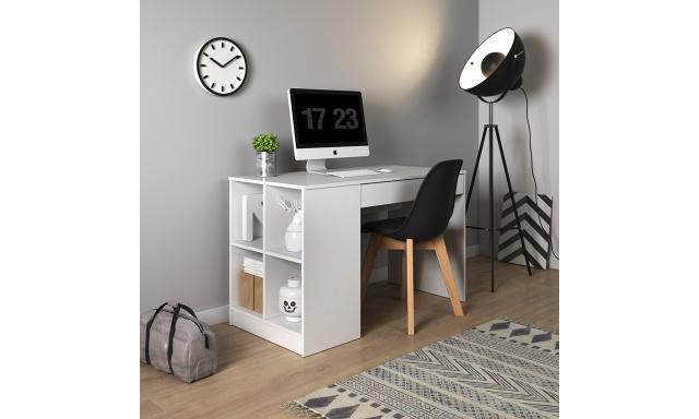 PC stůl Astra, bílý