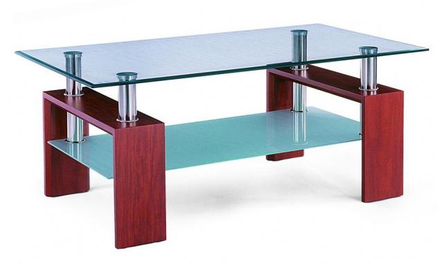 Levný konferenční stolek AF-1025,třešen