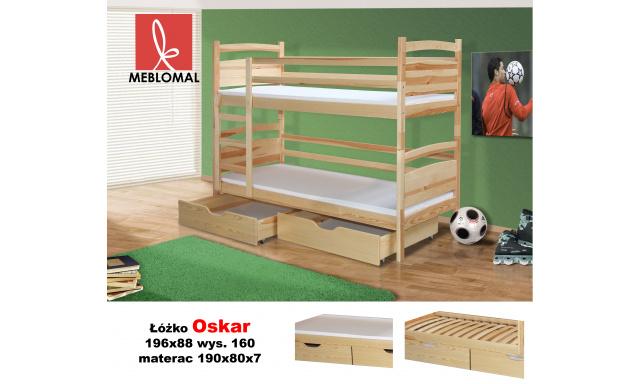 Dě›tská postel Oskar, masiv + matrace ZDARMA!