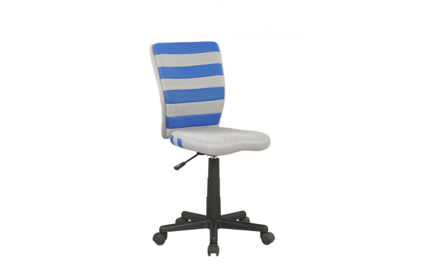 Kancelářská židle Fuego, modrá / šedá