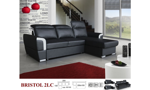 Elegantní sedací souprava Bristol