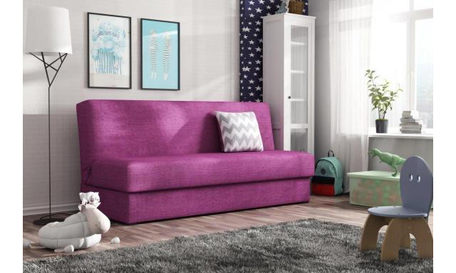 Rozkládací pohovka Arco, fialová