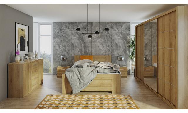 Ložnice Bern D, dub zlatý