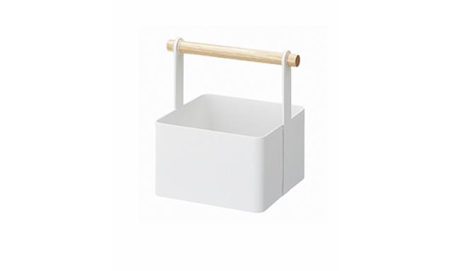 Multifunkční box YAMAZAKI Tosca Tool Box S, bílý