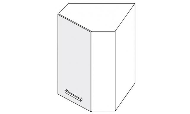 PLATINUM horní skřínka 60cm W9/60 rohová