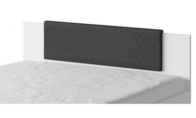 Záhlavník k posteli Bern, černý
