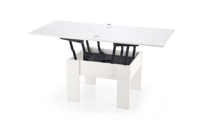 Zvedací konferenční stůl Safo, bílý
