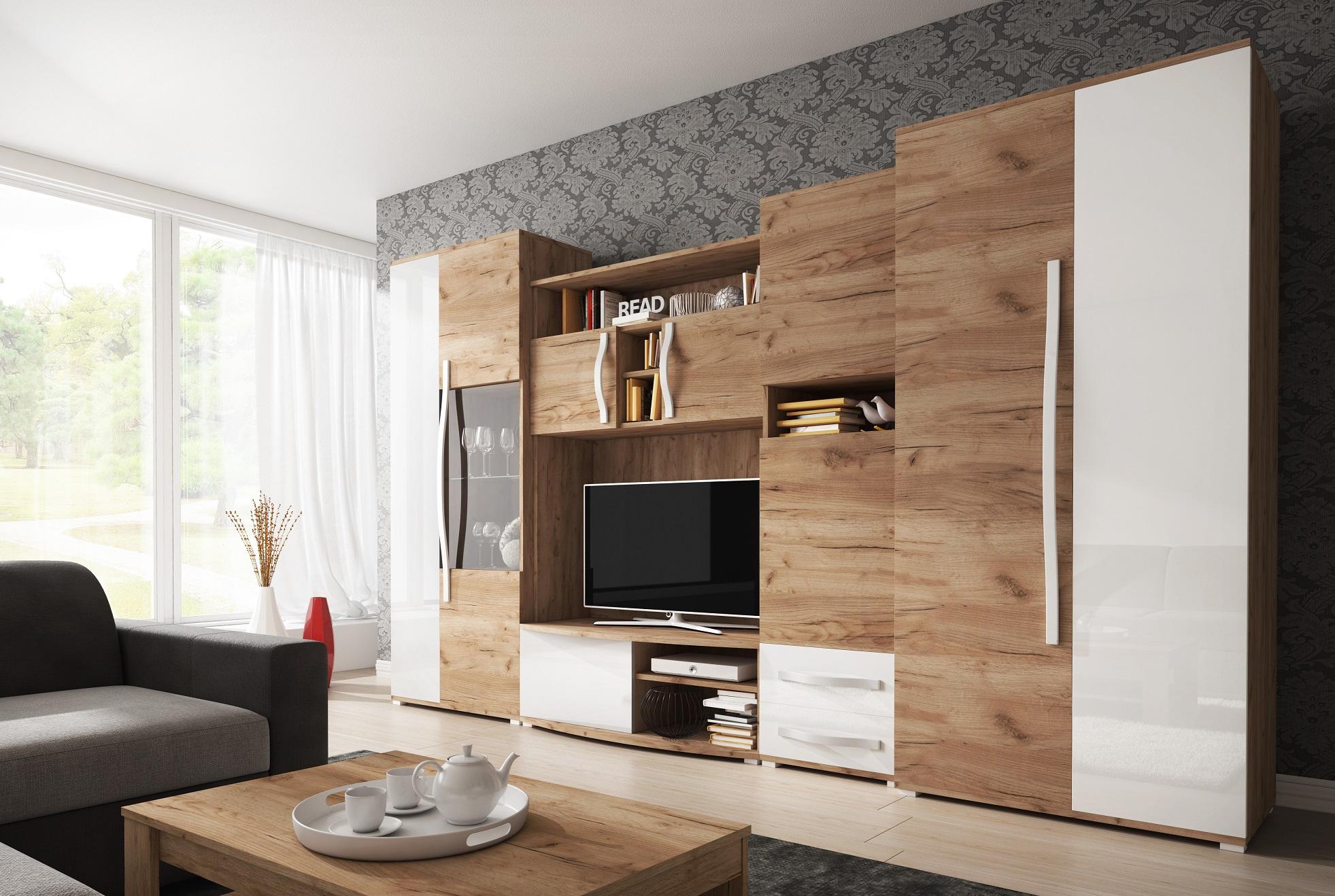 elegantn ob vac st na lenny. Black Bedroom Furniture Sets. Home Design Ideas