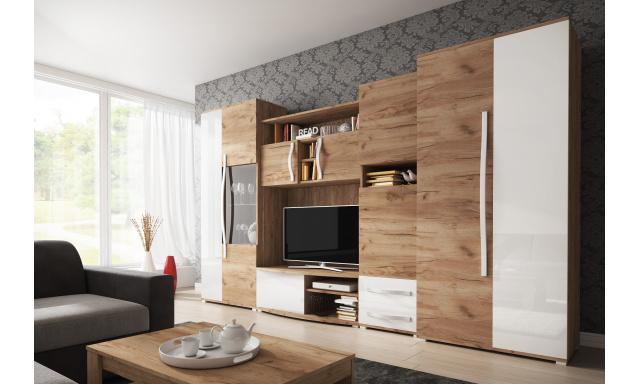Elegantní obývací stěna Lenny