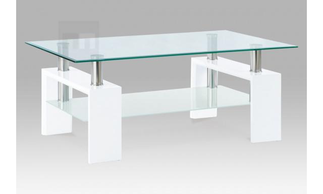 Konferenční stolek AF-1024 bílý
