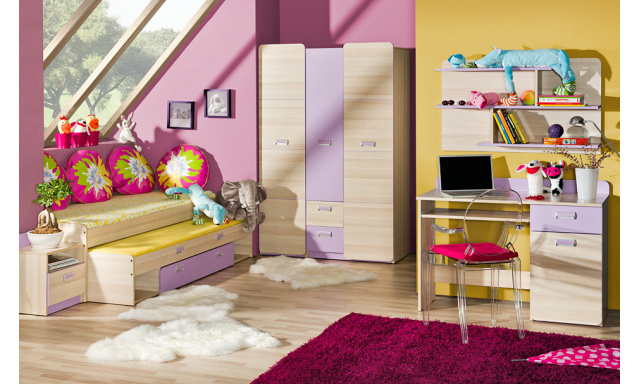 Dětský pokoj Loreto systém D