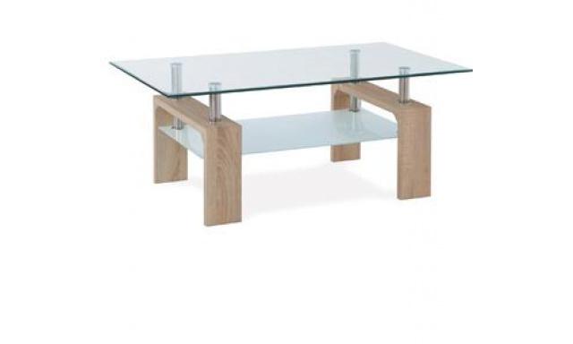 Levný konferenční stolek AF-1024 sonoma