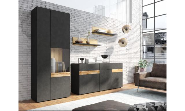 Designová obývací stěna Simon B