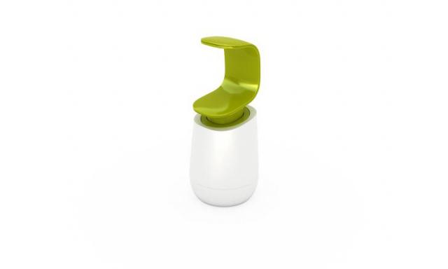Dávkovač mýdla JOSEPH JOSEPH C-pump ™, bílý/zelený