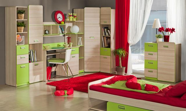 Dětský pokoj Loreto systém C