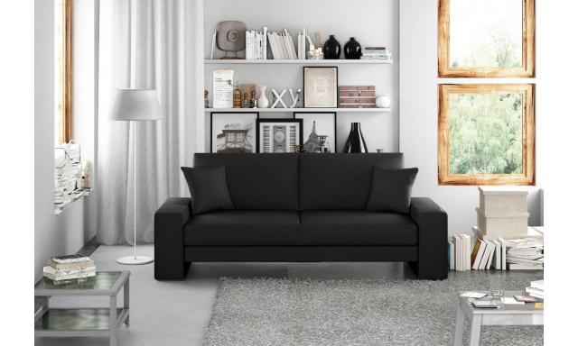 Moderní pohovka Supra, černá