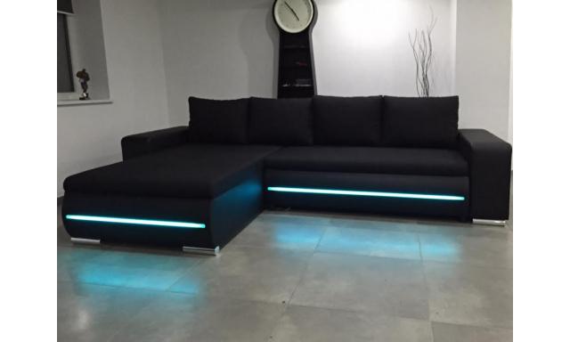 Sedací souprava Lux s LED osvětlením