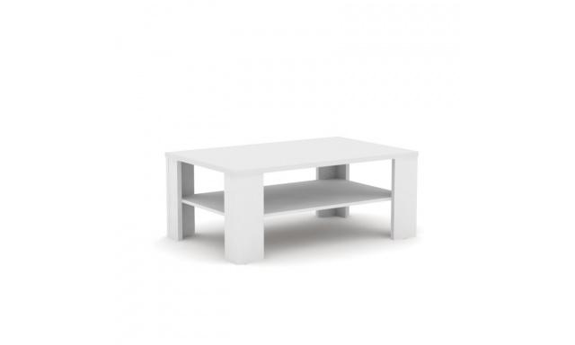 Konferenční stůl Rea 3, bílý