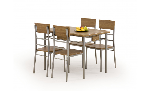 NATANIEL table + 4 chairs